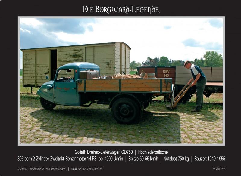 Borgward Sammelkarten