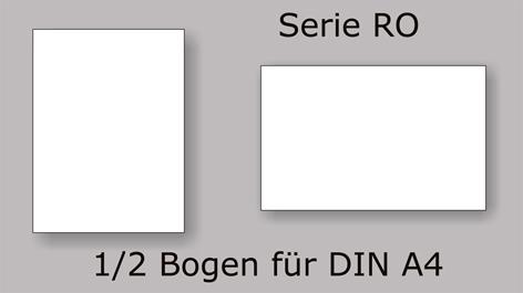 Serie RO 1/2 A4