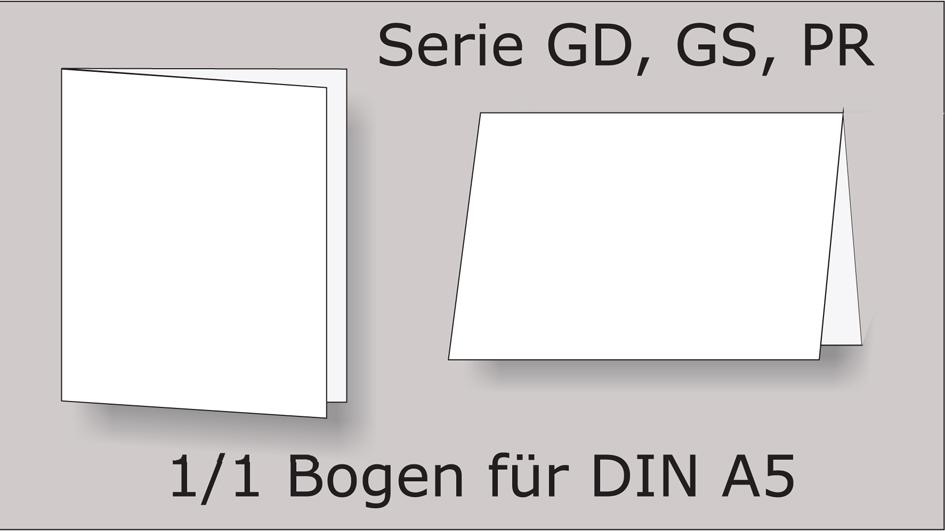 Serie GD, GS, PR, 1/1 A5