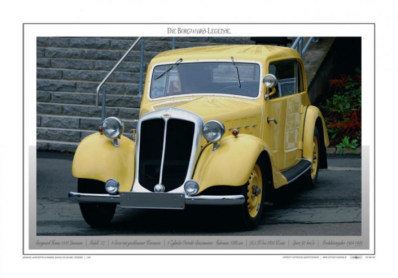 Borgward Poster - Einzelbilder