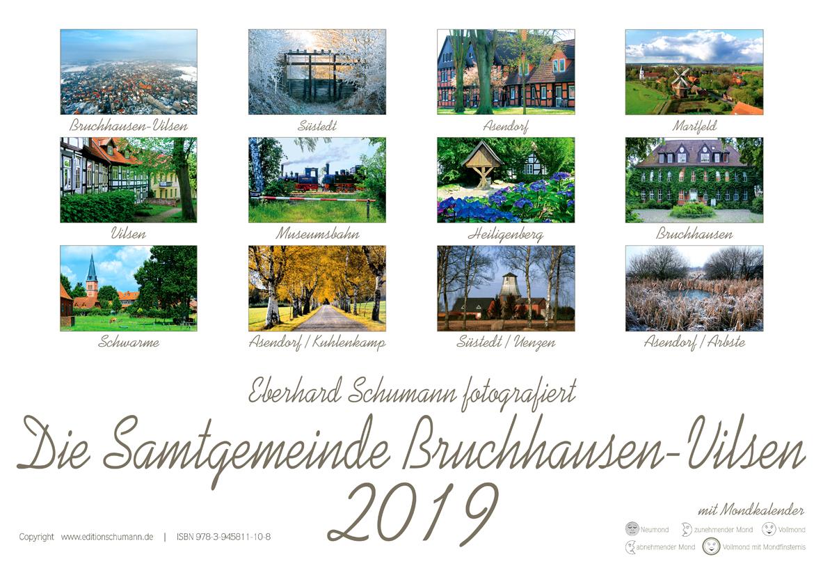 Fotokunstkalender Bilder der SG Bruchhausen-Vilsen