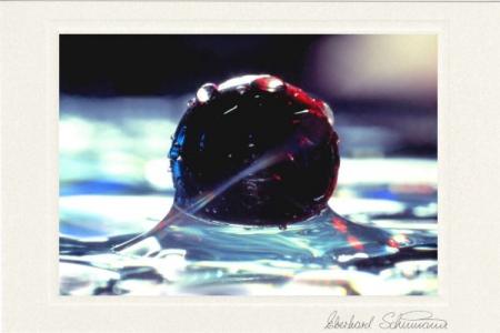 Kugel mit anziehendem Wasser
