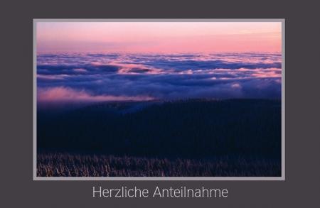Wolkenlandschaft am Harzer Brocken