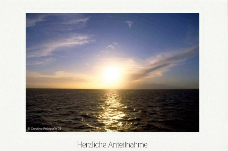 Nordsee in Abendstimmung