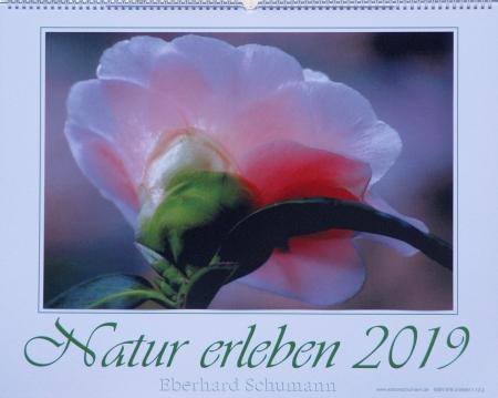 """Kalender 2019 """"Natur erleben"""""""